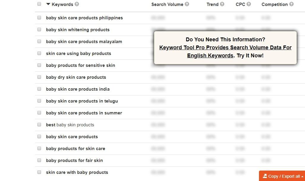 Keywordtool.io is great for finding YouTube keywords.