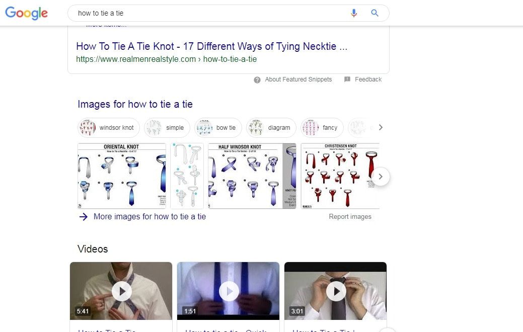 Video keyword are easy to rank for