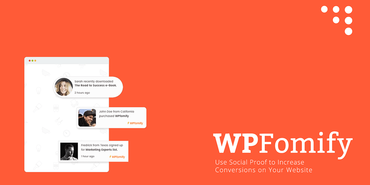 WPFomify Review: Get Started With Social Proof Marketing