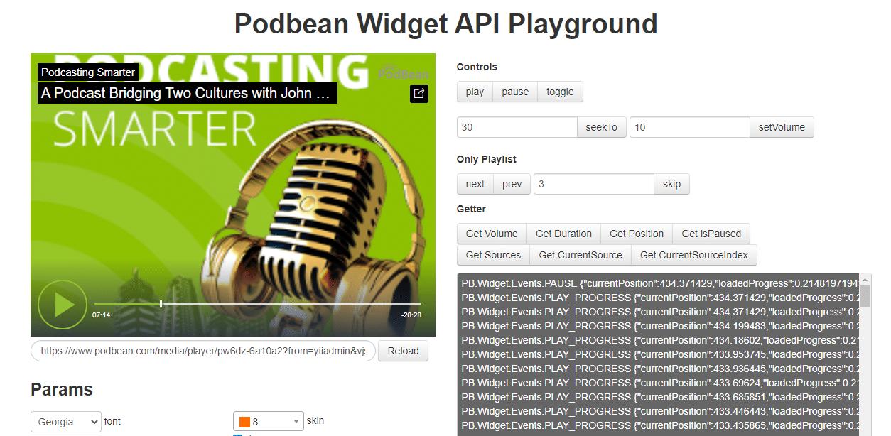 Podbean playground