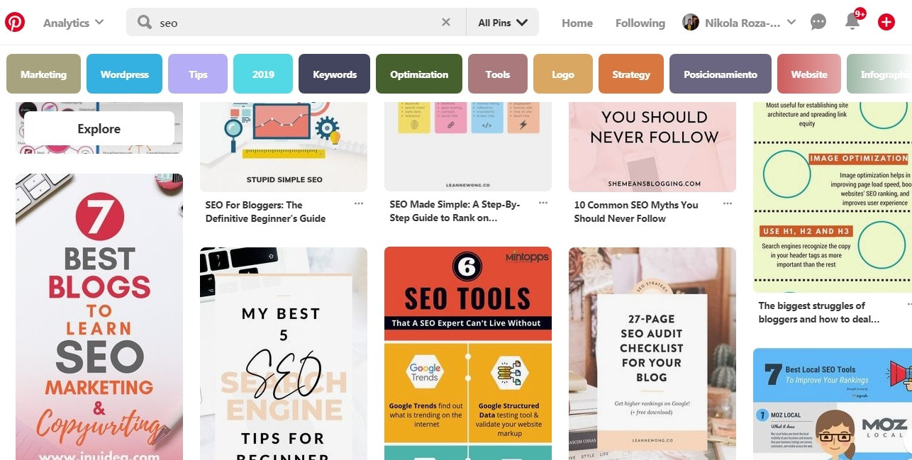 Bland Pinterest boards. A chance to stand out from the crowd