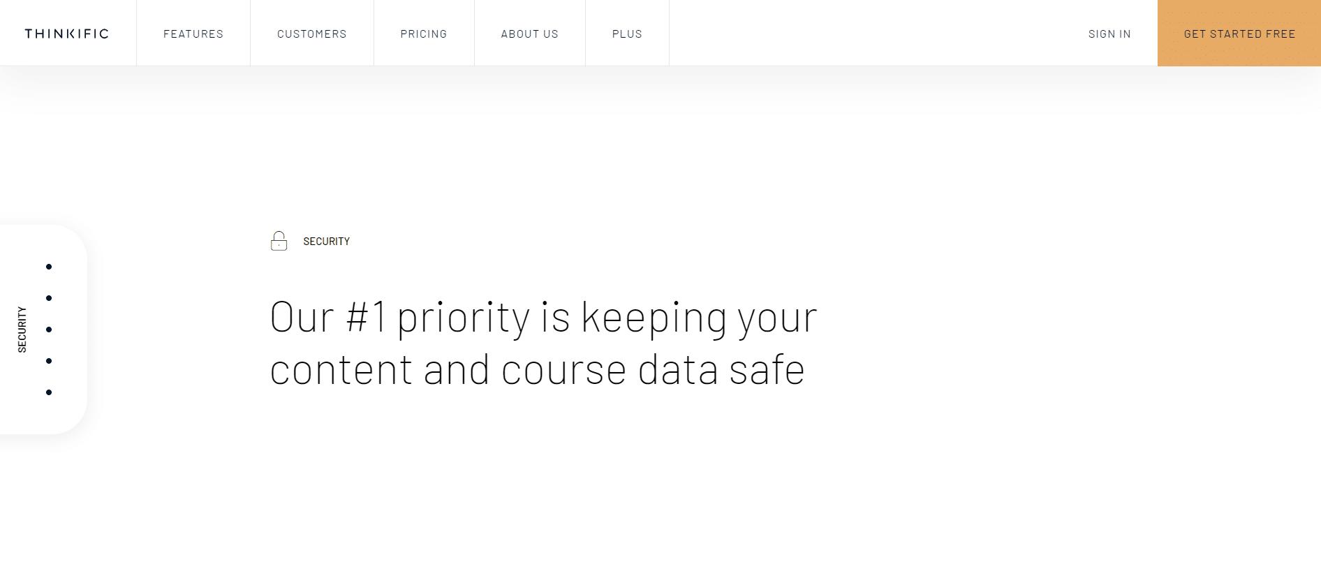 thinkific-vs-teachable-security