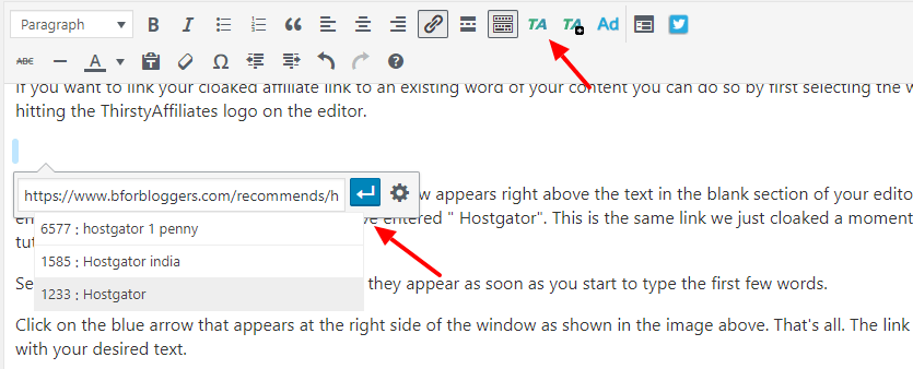 adding-cloaked-link-into-text